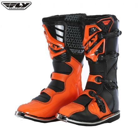 Fly Maverick Boot ADULT BLACK ORANGE